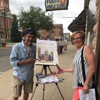 Plein Air Paint Competition