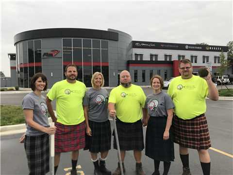 Highland Games Cast for TV show