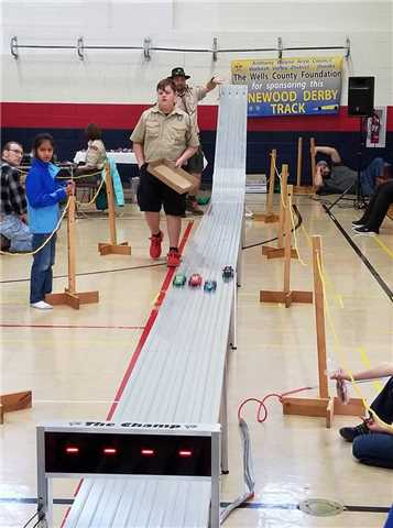 Area Cub Scouts Pinewood Derby
